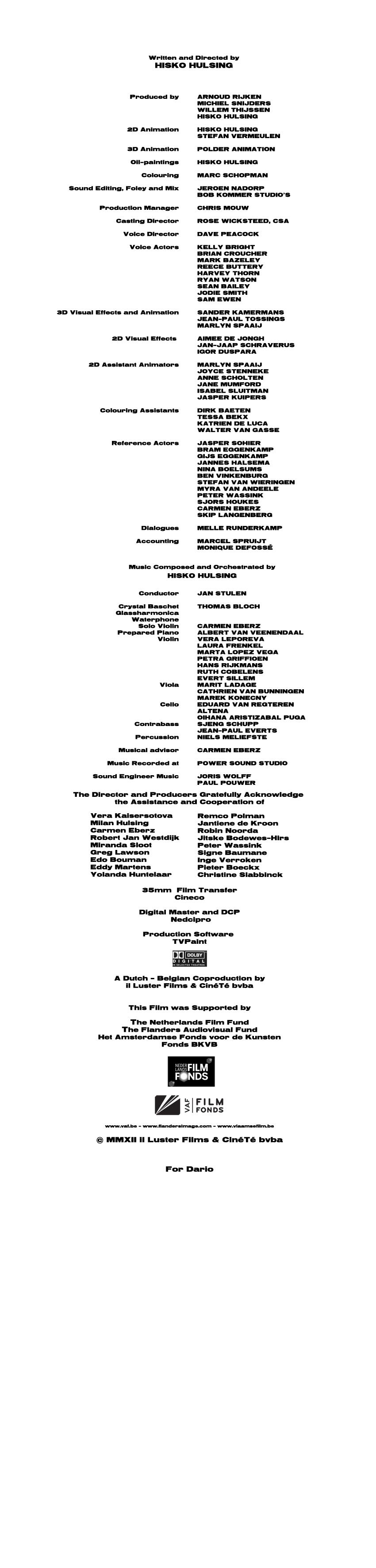 Junkyard - Credits